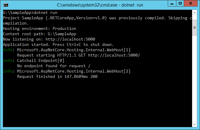 Logging — ASP NET documentation