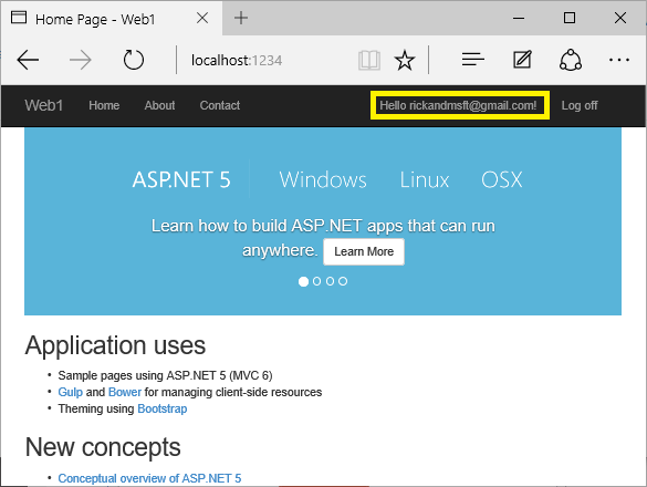 Account Confirmation and Password Recovery — ASP NET documentation