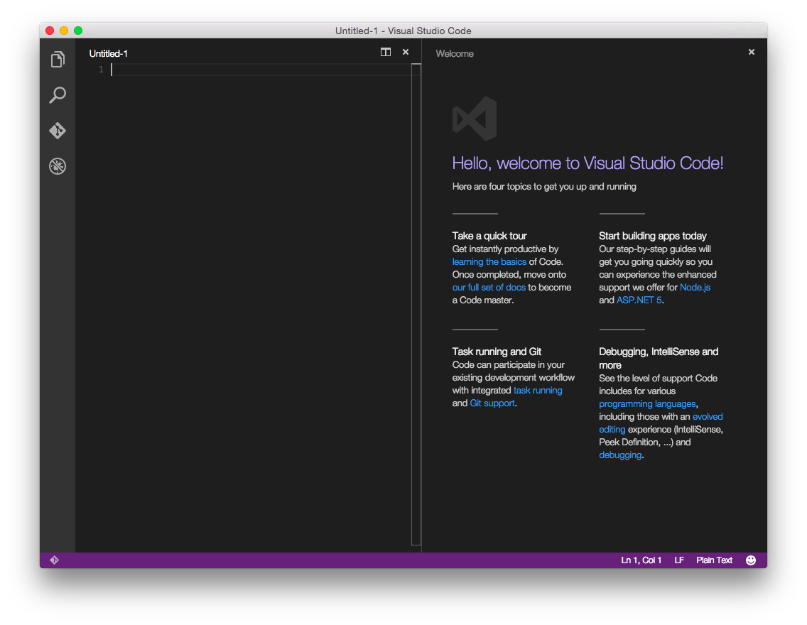 Your First Asp Net Core Application On A Mac Using Visual Studio